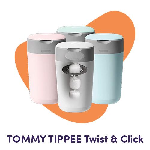 contenitore pannolini twist & click