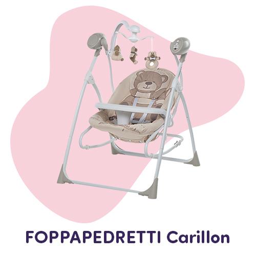 sdraietta carillon teddy