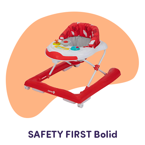 girello bolid red safety first